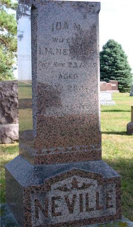 NEVILLE, IDA M. - Cherokee County, Iowa   IDA M. NEVILLE