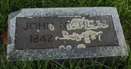 NICHLESS, JOHN - Cherokee County, Iowa   JOHN NICHLESS