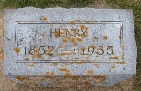 NIEMANN, HENRY - Cherokee County, Iowa | HENRY NIEMANN