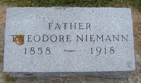 NIEMANN, THEODORE - Cherokee County, Iowa   THEODORE NIEMANN