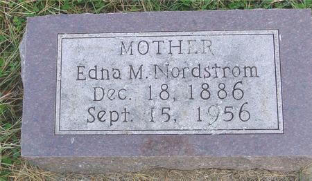 NORDSTROM, EDNA M. - Cherokee County, Iowa | EDNA M. NORDSTROM