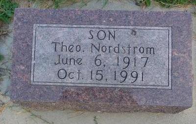 NORDSTROM, THEO. - Cherokee County, Iowa | THEO. NORDSTROM