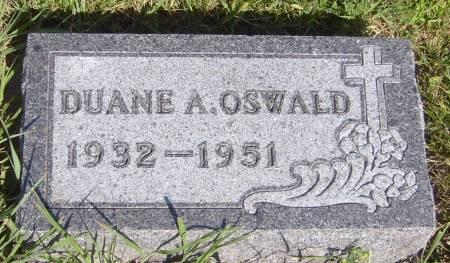 OSWALD, DUANE A. - Cherokee County, Iowa | DUANE A. OSWALD