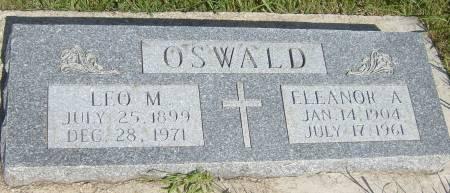 OSWALD, LEO M. - Cherokee County, Iowa   LEO M. OSWALD