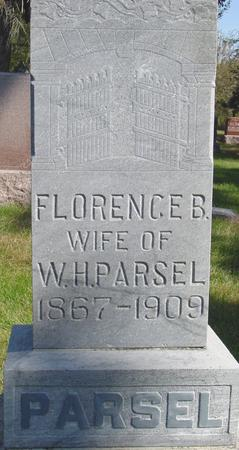 PARSEL, FLORENCE B. - Cherokee County, Iowa | FLORENCE B. PARSEL
