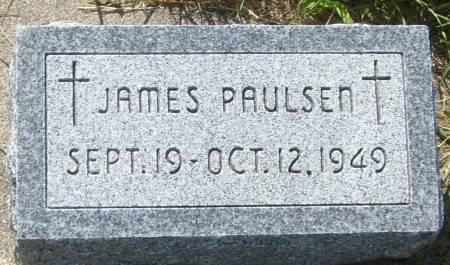 PAULSEN, JAMES - Cherokee County, Iowa   JAMES PAULSEN
