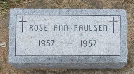 PAULSEN, ROSE ANN - Cherokee County, Iowa | ROSE ANN PAULSEN