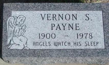 PAYNE, VERNON S. - Cherokee County, Iowa   VERNON S. PAYNE