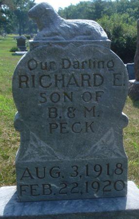 PECK, RICHARD E. - Cherokee County, Iowa   RICHARD E. PECK