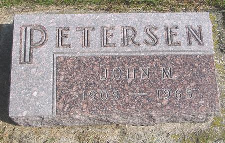 PETERSEN, JOHN M. - Cherokee County, Iowa | JOHN M. PETERSEN