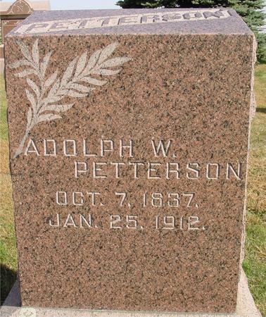 PETTERSON, ADOLPH W. - Cherokee County, Iowa | ADOLPH W. PETTERSON