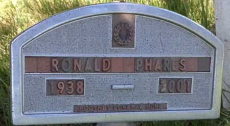 PHARES, RONALD - Cherokee County, Iowa   RONALD PHARES