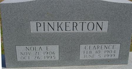 PINKERTON, CLARENCE  & NOLA - Cherokee County, Iowa | CLARENCE  & NOLA PINKERTON