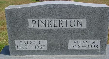 PINKERTON, RALPH & ELLEN - Cherokee County, Iowa   RALPH & ELLEN PINKERTON