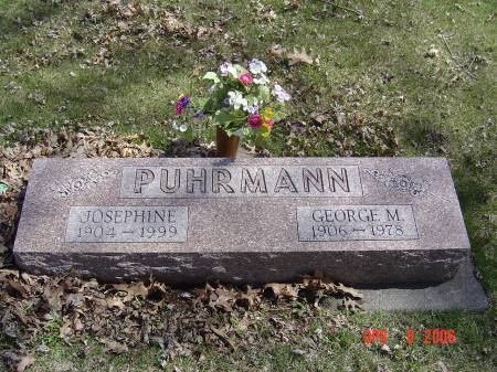 ETHELL PUHRMANN, JOSEPHINE - Cherokee County, Iowa | JOSEPHINE ETHELL PUHRMANN