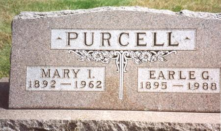 PURCELL, MARY I. & EARLE G. - Cherokee County, Iowa | MARY I. & EARLE G. PURCELL