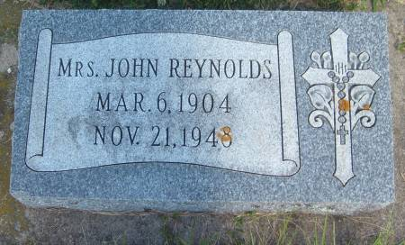 REYNOLDS, MRS. JOHN - Cherokee County, Iowa   MRS. JOHN REYNOLDS