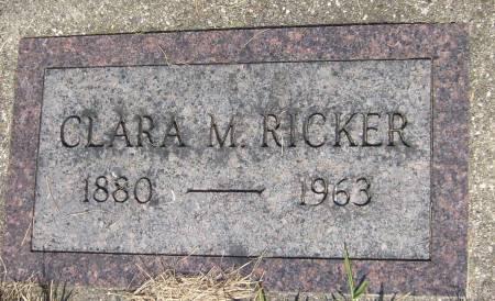 RICKER, CLARA M. - Cherokee County, Iowa | CLARA M. RICKER