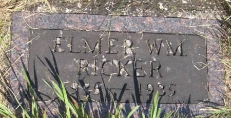 RICKER, ELMER WM. - Cherokee County, Iowa | ELMER WM. RICKER