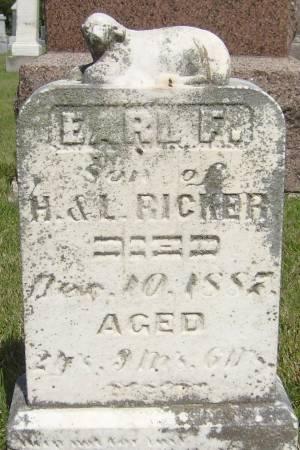 RICKER, EARL F. - Cherokee County, Iowa | EARL F. RICKER