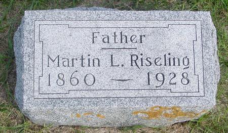 RISELING, MARTIN - Cherokee County, Iowa   MARTIN RISELING