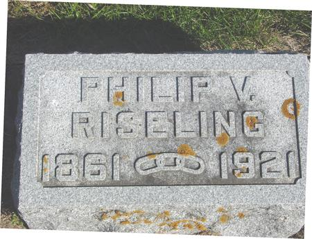RISELING, PHILIP V. - Cherokee County, Iowa | PHILIP V. RISELING