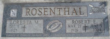 ROSENTHAL, ROBERT E. - Cherokee County, Iowa | ROBERT E. ROSENTHAL
