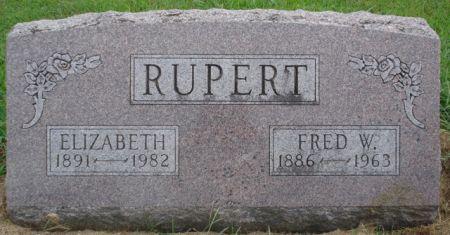RUPERT, ELIZABETH - Cherokee County, Iowa   ELIZABETH RUPERT
