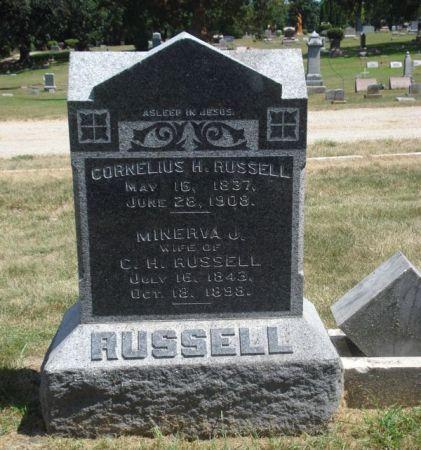RUSSELL, CORNELIUS H. - Cherokee County, Iowa   CORNELIUS H. RUSSELL