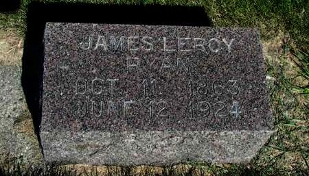 RYAN, JAMES LEROY - Cherokee County, Iowa | JAMES LEROY RYAN