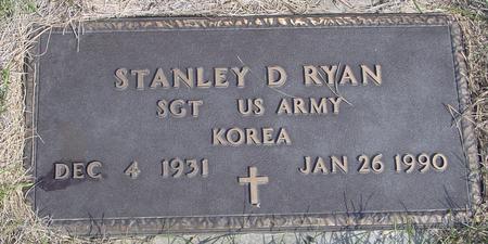 RYAN, STANLEY D. - Cherokee County, Iowa | STANLEY D. RYAN