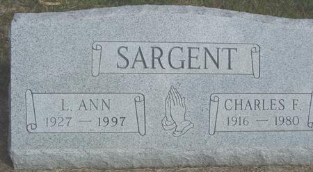 SARGENT, CHARLES & L. ANN - Cherokee County, Iowa | CHARLES & L. ANN SARGENT