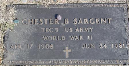 SARGENT, CHESTER B. - Cherokee County, Iowa | CHESTER B. SARGENT