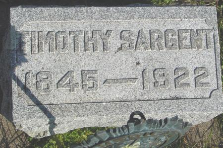 SARGENT, TIMOTHY - Cherokee County, Iowa | TIMOTHY SARGENT