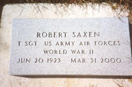 SAXEN, ROBERT - Cherokee County, Iowa | ROBERT SAXEN