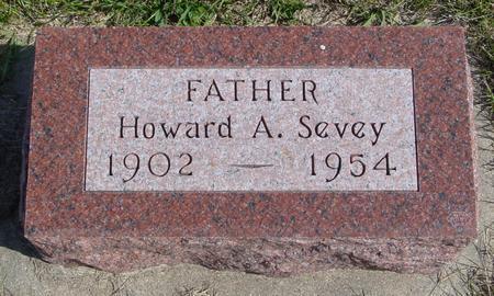 SEVEY, HOWARD A. - Cherokee County, Iowa | HOWARD A. SEVEY