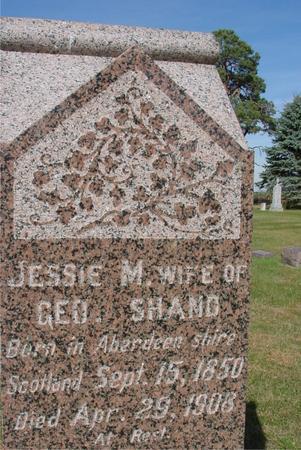 SHAND, JESSIE M. - Cherokee County, Iowa | JESSIE M. SHAND