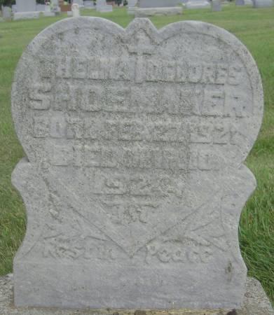SHOEMAKER, THELMA DELORES - Cherokee County, Iowa | THELMA DELORES SHOEMAKER