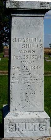 SHULTS, ELIZABETH A. - Cherokee County, Iowa | ELIZABETH A. SHULTS