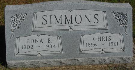 SIMMONS, CHRIS & EDNA - Cherokee County, Iowa | CHRIS & EDNA SIMMONS