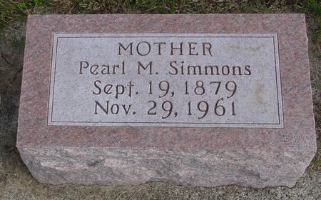 SIMMONS, PEARL M. - Cherokee County, Iowa | PEARL M. SIMMONS