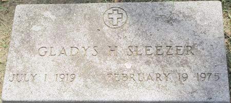 ROBINSON SLEEZER, GLADYS HARRIET - Cherokee County, Iowa | GLADYS HARRIET ROBINSON SLEEZER
