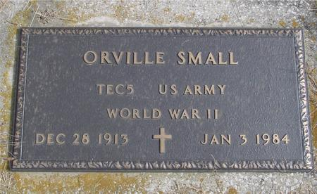 SMALL, ORVILLE - Cherokee County, Iowa | ORVILLE SMALL