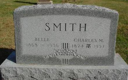 SMITH, CHARLES M. & BELLE - Cherokee County, Iowa | CHARLES M. & BELLE SMITH