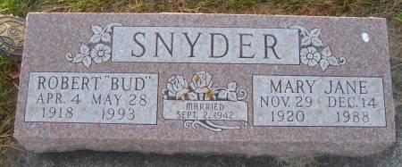 SNYDER, ROBERT - Cherokee County, Iowa | ROBERT SNYDER