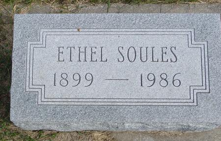 SOULES, ETHEL - Cherokee County, Iowa | ETHEL SOULES