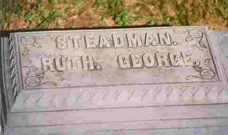 STEDMAN, RUTH EDWINA - Cherokee County, Iowa | RUTH EDWINA STEDMAN