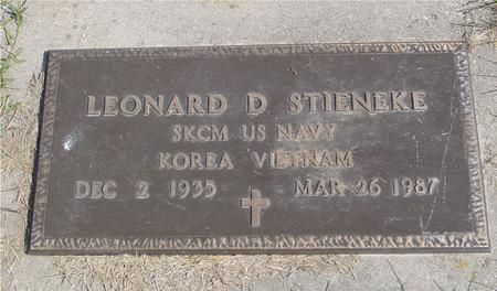 STIENEKE, LEONARD - Cherokee County, Iowa | LEONARD STIENEKE
