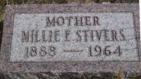STIVERS, MILLIE E. - Cherokee County, Iowa | MILLIE E. STIVERS