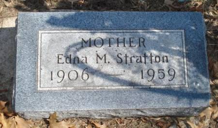 STRATTON, EDNA M. - Cherokee County, Iowa   EDNA M. STRATTON